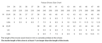 Feiyue Size Chart Feiyuesizechart Twitter