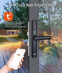 Khóa Cổng Cửa Lùa Vân Tay Mã Số Thẻ Từ Wifi Tuya SHP-DLS9 – SmartHomePlus  Việt Nam - Thiết bị điện thông minh