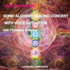 Alchemy Of Light Healing Sonic Alchemy Healing Concert With Voice Activation With