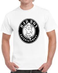 Bad Boy T Shirt Size Chart Bad Boy Records Hip Hop Tshirt Summer Hot Sale New Tee Print Men T Shirt Top
