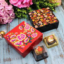 Flower Printed Paper Flower Printed Gift Box Macaron Moon Cake Box Wholesale Paper Packaging For Cookies Chocolate Nougat Big Rolls Of Christmas Wrapping Paper Birthday