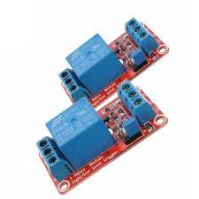<b>2pcs 5v 1 channel</b> level trigger optocoupler relay module geekcreit ...