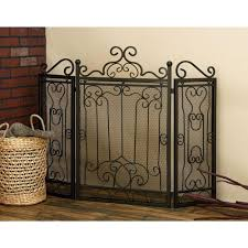 metal fireplace screen 90569 the home depot