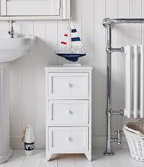 white wooden bathroom furniture. Maine White Wooden Drawers, Ideal For Storage In Bathroom Toiletries Furniture The Lighthouse