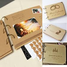 Us 11 75 16 Off A4 Ring Binder Photo Album Kraft Scrapbook Wedding Album Scrapbook Wedding Guest Book In Photo Albums From Home Garden On