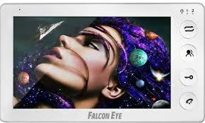 Купить <b>Видеодомофон FALCON EYE Cosmo</b> Plus, белый в ...