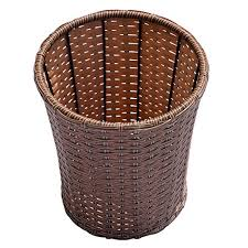 small wicker wastebasket with lid. Contemporary Wastebasket Household Essentials ML2215 Small Decorative Wicker Waste Basket  Haven  Willow And Poplar Natural  On Wastebasket With Lid R
