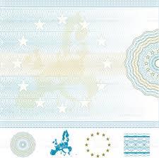 Европейский союз пустой Диплом или сертификат Сток Вектор  Европейский союз пустой Диплом или сертификат Сток Вектор Стоковая фотография