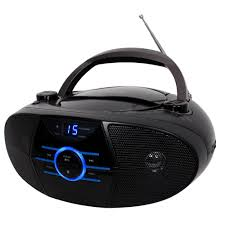 JENSEN CD-560 Portable Stereo CD Player with AM/FM Radio and Bluetooth