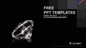 Free Shiny Luxurious Diamond Powerpoint Template Designhooks