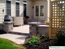 Small Picture Patio Wall Design And This Contemporary Patio Diykidshousescom