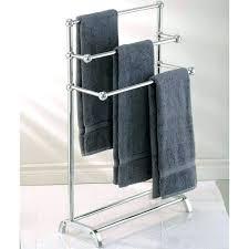 floor towel stand. Floor Towel Rack Free Standing Racks For Bathroom Audacious Chrome Image Ideas Best Amazon Stand S
