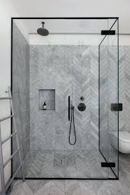black shower door black trim on the glass shower doors and black hardware in the shower black shower doors south africa