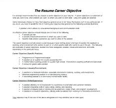 Resume Objective Statements Examples Download Resume Example Inspiration Mission Statement Resume