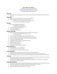 Sample Resume Objectives For Camp Counselor Inspirational