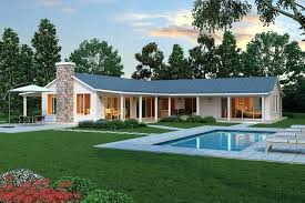 l shaped rancher modern l shaped farmhouse plan cliff may style ranch house my love of