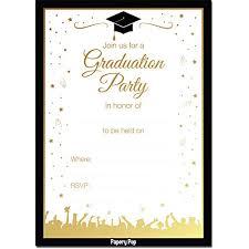 High School Graduation Announcement High School Graduation Invites Amazon Com