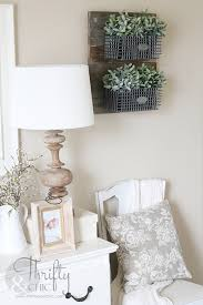 farmhouse style furniture. Farmhouse Style Furniture. DIY Decor Ideas For The Bedroom - Hanging Wire Baskets Furniture