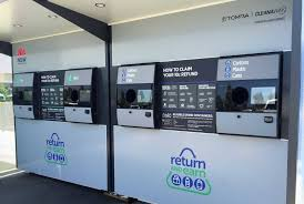 Reverse Vending Machines Impressive Container Deposit Scheme Launches In Macarthur Today Campbelltown