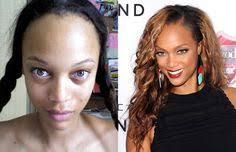 30 shocking photos of hot celebrities without makeup or phototyra banks