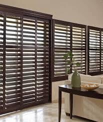 plantation shutters for sliding doors