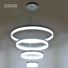 dimmable light fixture inch led ring light fixture acrylic pendant light modern led chandeliers lighting dimmable light fixture buzzing