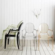 kartell louis ghost armchairs  chairs  graham and green