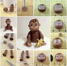 Из чего сделать обезьяну