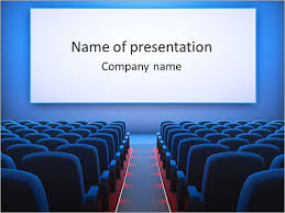 Movie Powerpoint Template Cinema Hall Powerpoint Template Infographics Slides