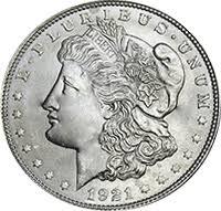 Half Dollar Worth Chart 1921 Morgan Silver Dollar Value Cointrackers