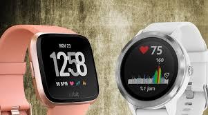 Fitbit Garmin Comparison Chart Choosing Between Fitbit Versa And Garmin Vivoactive 3