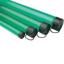 leeda green plastic rod