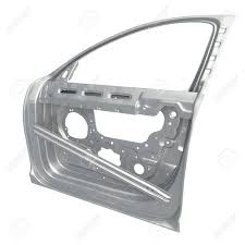car door frame on white background 3d ilration stock ilration 67860263