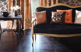 black living room furniture. orange gold and black living room furniture