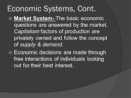 chapter  economic systems the way in which a nation uses its  9 economic systems