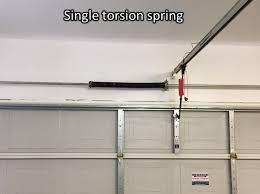 garage door spring brokeGarage Garage Door Torsion Spring Replacement Cost  Home Garage