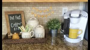coffee station ideas for the home