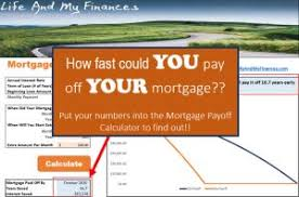Mortgage Payoff Archives Life And My Finances