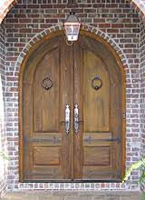 double entry front doorsWooden Exterior Front Entry Double Doors Wood