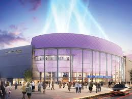 New 84 Million Sugar Land Performance Arena Tops Out In A