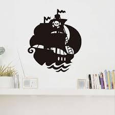 Boat Decor Accessories Magnificent Art Design Home Decoration Accessories Vinyl Sailing Boat Wall