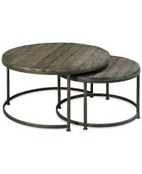 wood coffee table with metal legs amazing dark circle industrial wood coffee table with metal legs