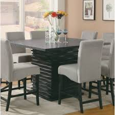 8 person dining table. 8 Person Square Dining Table Wayfair Within For Decorations 0