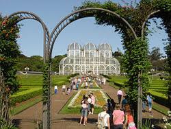 Ботанический сад Википедия Ботанический сад Куритибы Бразилия
