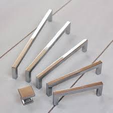 contemporary square cabinet pull  cabinet hardware hardware and bath