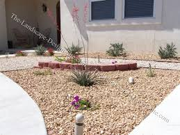 Small Picture Desert Landscape Front Yard Flower Bed