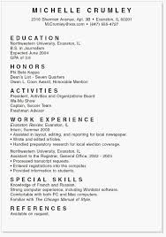 Template For Resume Best College Resume Example Writers Resume 0d