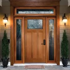 wood front doorsWood Exterior Doors