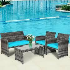 4pcs outdoor patio furniture