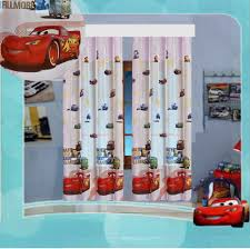KINDERZIMMER GARDINE AUTO CARS II DISNEY 2 TEILE 2x(150x126 ...